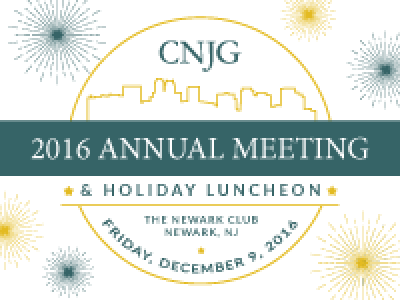 CNJG's 2016 Annual Meeting & Holiday Luncheon | Council of ...